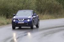 Зад волана на Nissan Juke