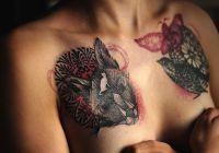 Татуировки прикриват белезите от рак на гърдата