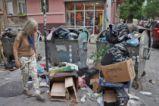 """Центърът на София потъна в боклуци, живеещите около бул. """"Витоша"""" протестират"""