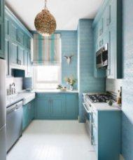 Малки кухни, обзаведени със стил