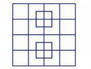 Колко квадрата виждаш на снимката?