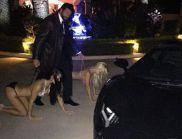 Скандално: Извратен милионер влачи жена си на каишка