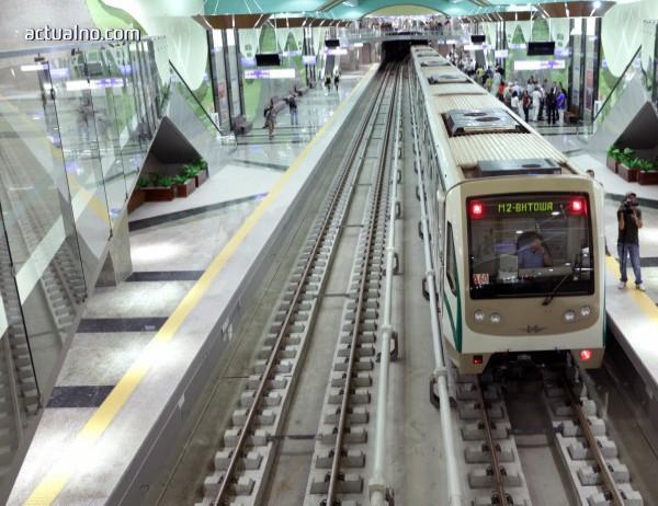 Промени в движението в София до края на май заради строителството на метрото