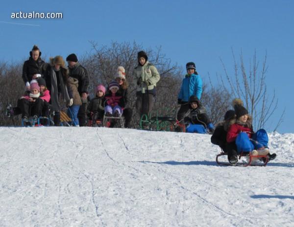 Зимни игри за децата във ваканция организира Музеят на София