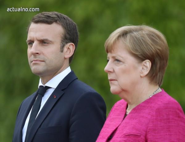 Меркел и Макрон призоваха Путин за примирие в Сирия