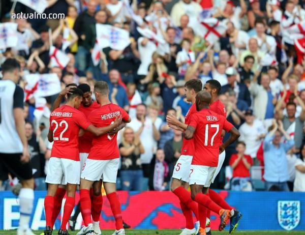 Хари Кейн спаси Англия от провал срещу Тунис