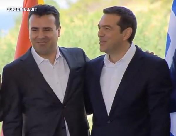 Македония и Гърция подписаха историческия договор за името (Видео)