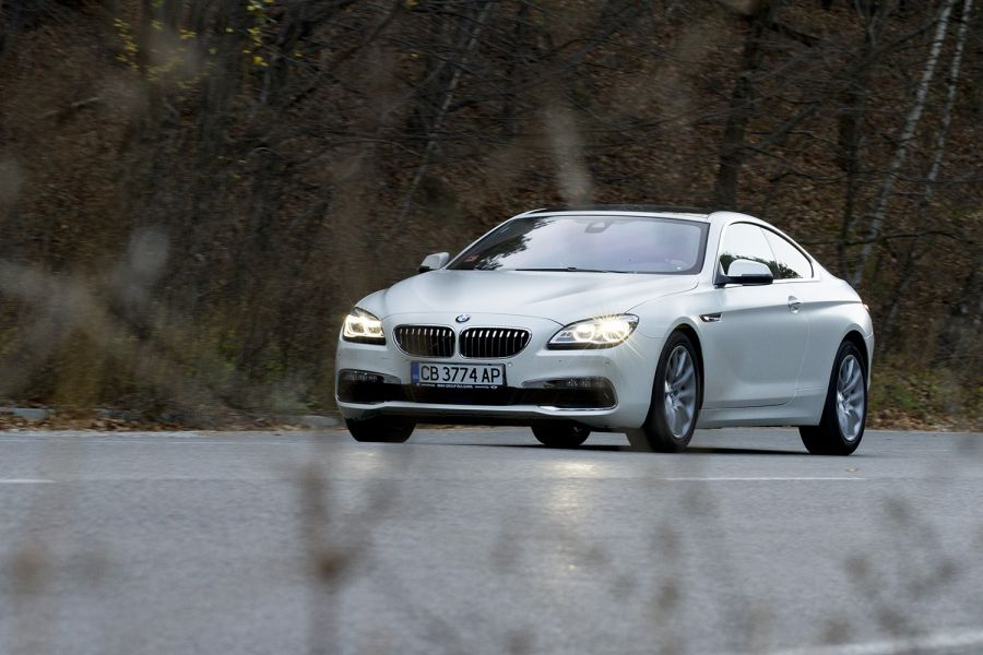 Зад волана на BMW Серия 6 Купе