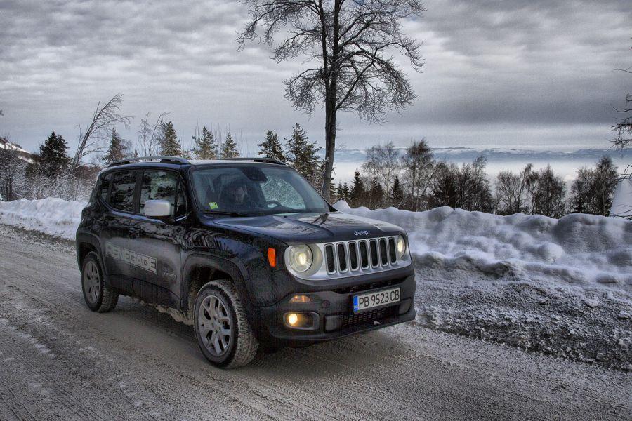 Зад волана на Jeep Renegade