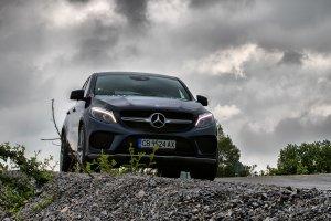 Зад волана на Mercedes-Benz GLE Coupe