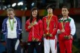Победата и награждаването на Елица Янкова в Рио