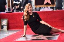 Ейми Адамс със звезда на Алеята на славата