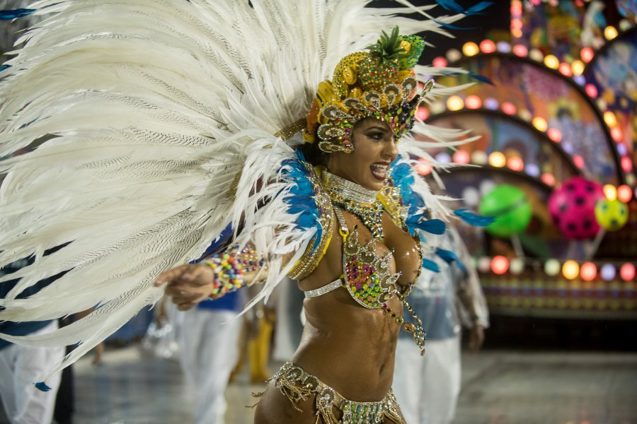 Цветове и страст на карнавала в Рио де Жанейро