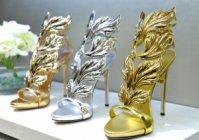 Обувките на Дженифър Лопес за Giuseppe