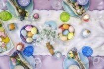 Великденска декорация за трапезата