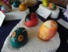 Детска изложба на яйца и козунаци за Великден