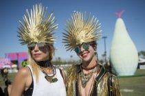 Фестивалът Coachella - парти визии