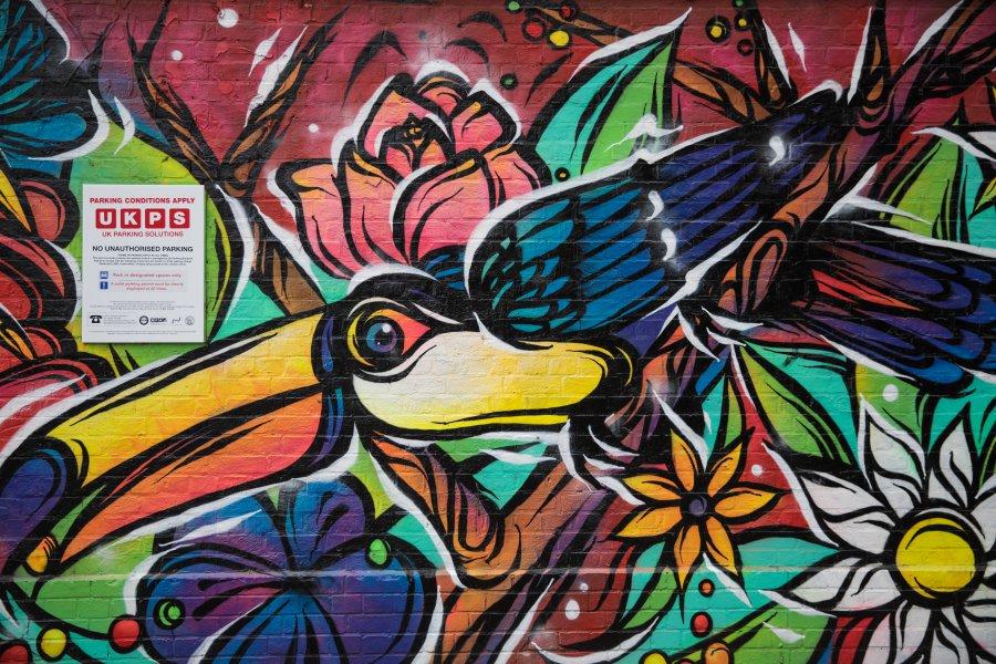 Графити разкрасиха Лондон