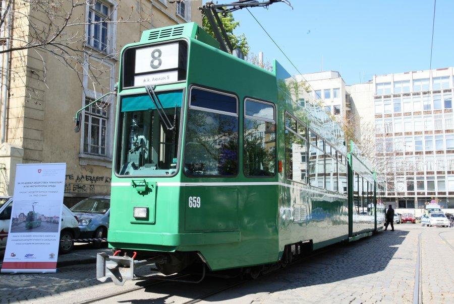 Новите швейцарски трамваи