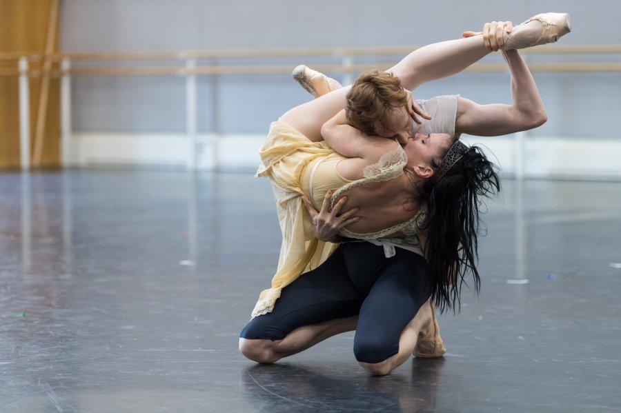Репетиция на Кралския балет