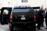 Доналд Тръмп и съпругата му на посещение при папа Франциск