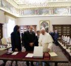 Румен Радев на аудиенция при папа Франциск