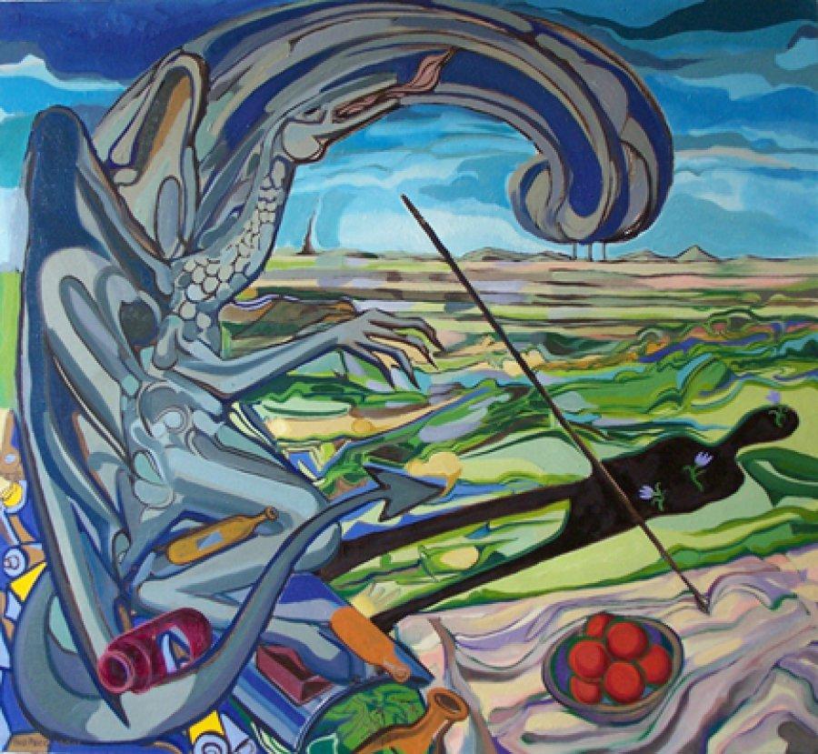 """Изложба """"Из пътешествието"""" на Иво Пецов в галерийното пространството на Coshare HIVE/ КОШЕР"""