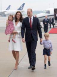 Кейт и Уилям в Полша