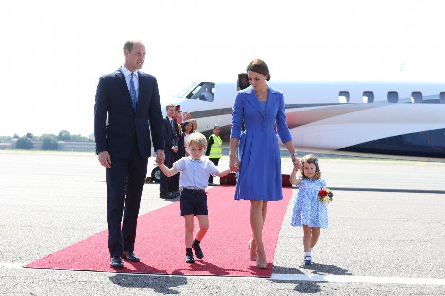 Кейт и Уилям на посещение в Германия