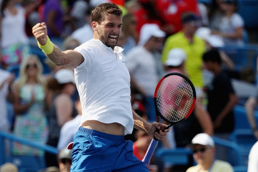 Радостта на Григор Димитров след достигането на първи Мастърс финал