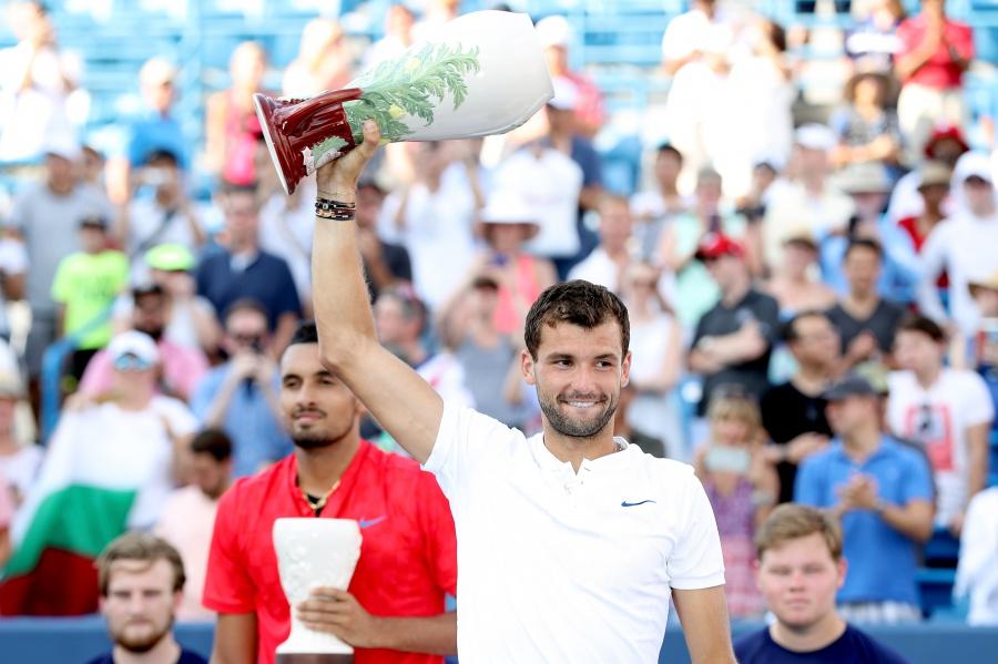 Григор Димитров с първа Мастърс титла в кариерата си