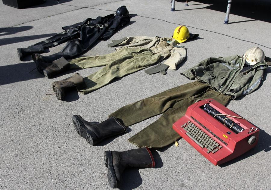 Протестът на пожарникарите