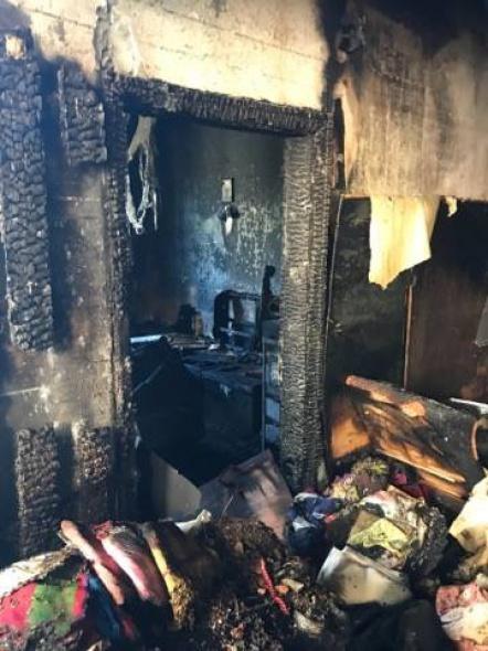 Огромен пожар в Асеновград изпепели къща