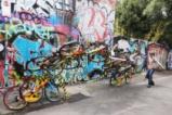 Арт инсталация с колела в Мелбърн, Австралия