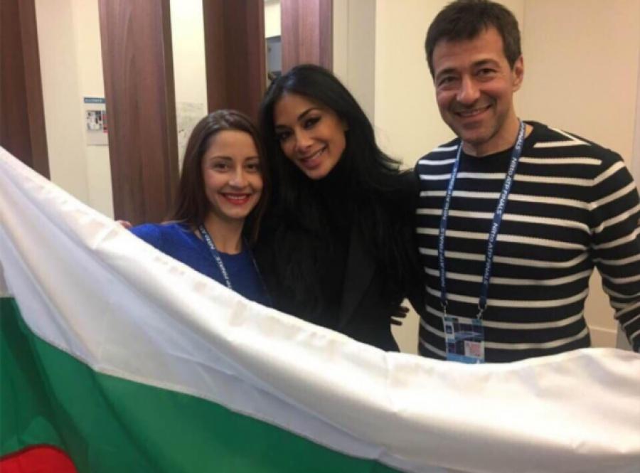 Никол намери време за Шампиона Григор и неговите родители