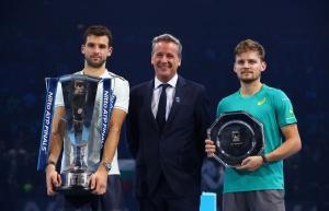 Емоциите на Григор Димитров след титлата на Финалния Мастърс