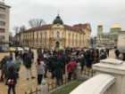 Протест в подкрепа на Истанбулската конвенция