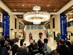 Визитата на Меркел в България
