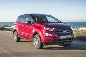 Ford EcoSport - променен до неузнаваемост отвън и отвътре