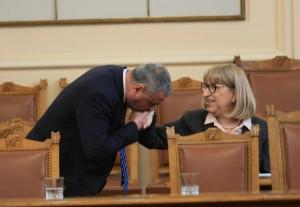 Петъчно настроение в парламента