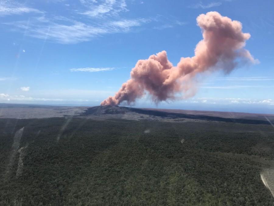 Вулканът Килауеа изригна на Хаваи