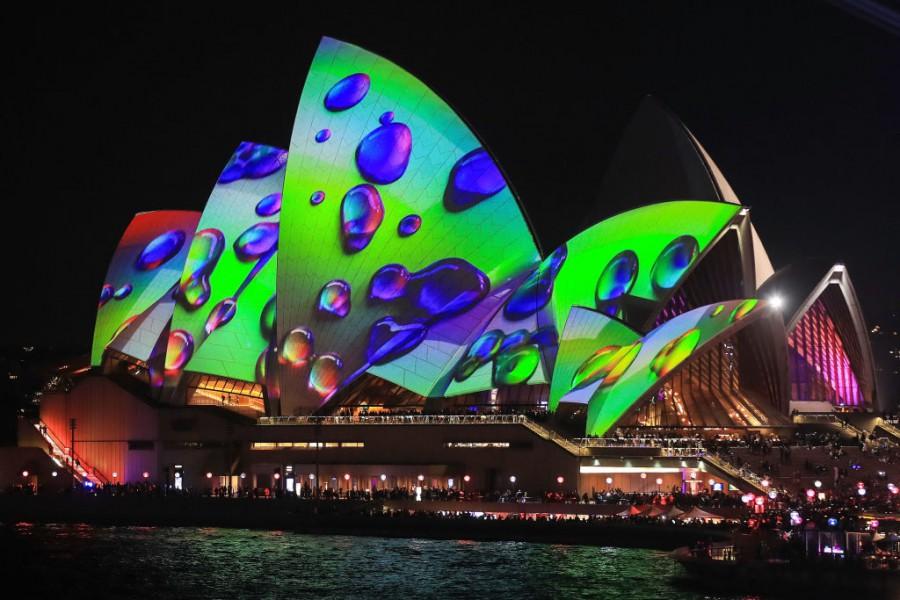 Фестивал на светлината в Сидни