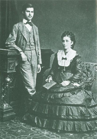 Фройд и майка му Амалия