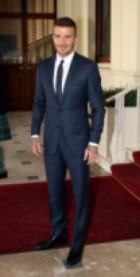 Дейвид Бекъм - отново заобиколен от кралски особи
