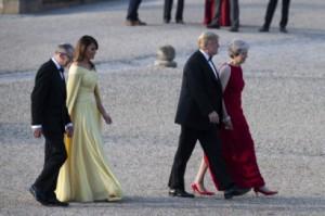 Мелания Тръмп очарова всички във Великобритания