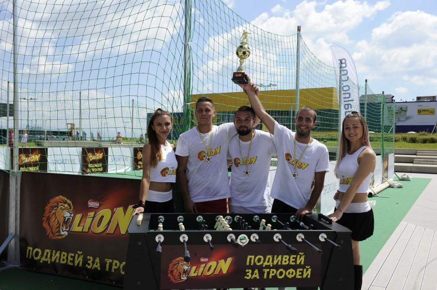 Подивей за трофей - благотворителният турнир за по-футболна София