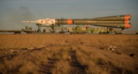 Кадри от аварията на Союз МС-10