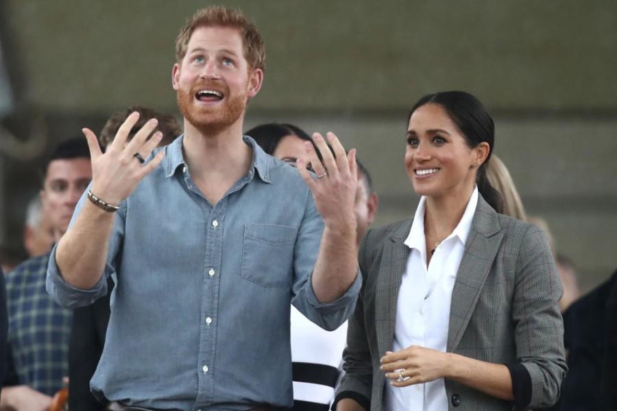 Принц Хари и Меган на посещение в Австралия