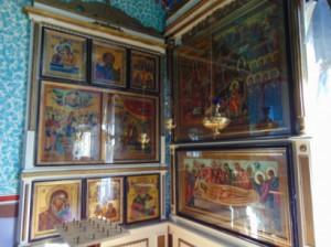 """Църквата """"Покров на Пресвета Богородица"""" в Журиловка"""
