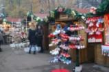 Коледен базар в градската градина на София